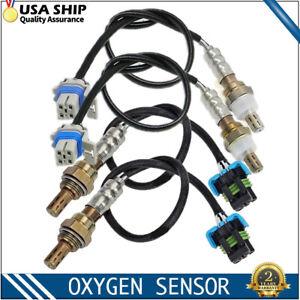 4pcs Upstream+Down Oxygen Sensor For Chevrolet Silverado 2500 HD 6.0L 2003-2006