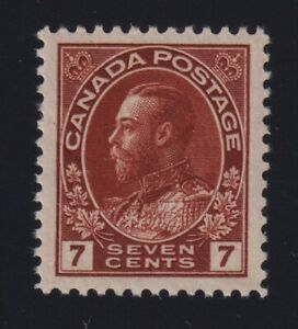 Canada-Sc-114iv-1920s-7c-Admiral-DIAGONAL-LINE-in-034-V-034-VARIETY-Mint-VF-NH