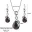 Women-Heart-Pendant-Choker-Chain-Crystal-Rhinestone-Necklace-Earring-Jewelry-Set thumbnail 26