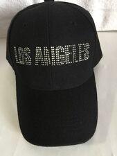 Los Angeles Adjustable hat Glitter Words New