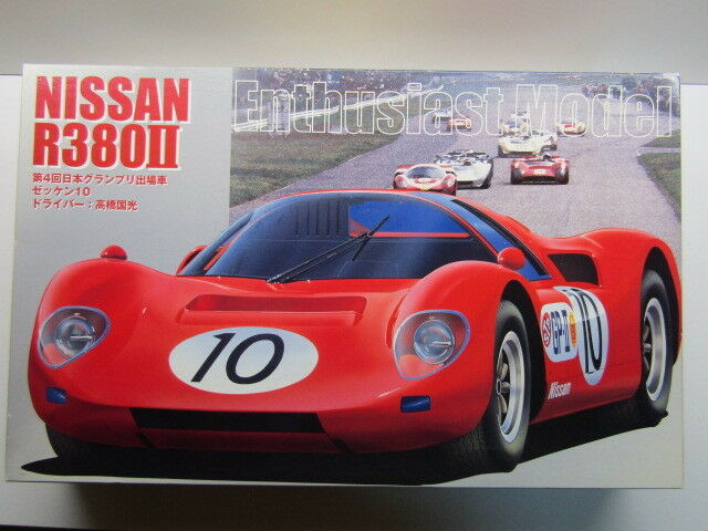 Fujimi 1 16 Scale Nissan R380ll Coupe Japan GP Version Rare Enthusiast Model Kit