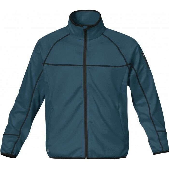 Stormtech tundra Stretch-Fleece chaqueta, Slate azul, talla XL (PVP   89,95)