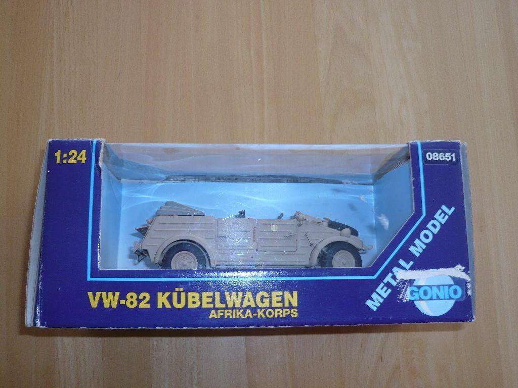 Vw-82 bac à Voiture 08651  Afrique-corps 1 24 neuf avec neuf dans sa boîte  bonne qualité