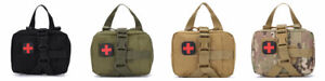 Tactical First Aid Kit Pouch Survival Molle Tactical Compact Rip Away EMT Medic