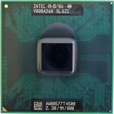 CPU Intel Dual Core DUO Mobile T4500 2.30/1M/800 SLGZC processore socket P - 478