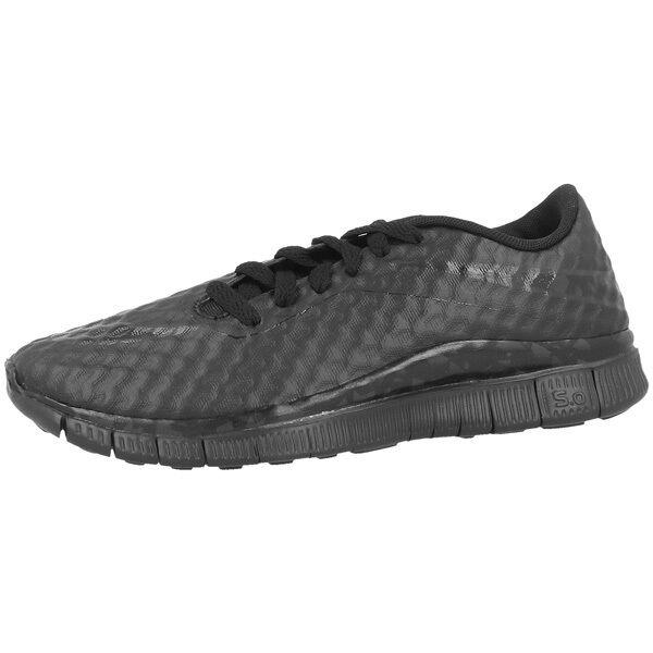 Nike Free HYPERVENOM GS Zapatos zapatillas de deporte para correr Black
