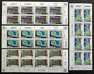 Europa-Stamp-Jersey-Stamp-Yvert-and-Tellier-N-272-IN-275-x8-N-Y3