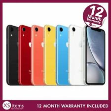 Apple iPhone XR - 64GB 128GB 256GB - Unlocked / EE - Various Colours A2105.