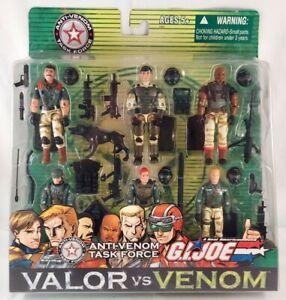 GI Joe• VALOR vs VENOM• ANTI-VENOM TASK FORCE • Hasbro 2004 New • MUTT Duke ++