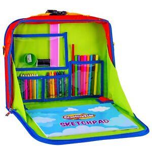 Creative-Kids-Travel-Fun-Desk-Portable-Car-Seat-Tray-Organizer-Drawing-Set