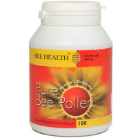 Bee Health PURE Bee Pollen 100 Caps BUY 1 GET 1 FREE