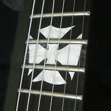 James Hetfield ESP TRUCKSTER Iron Cross Flag MOP Inlay Stickers for ANY GUITAR