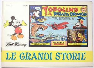 TOPOLINO-E-IL-PIRATA-ORANGO-N-6-1967-LE-GRANDI-STORIE-WALT-DISNEY-ANASTATICA