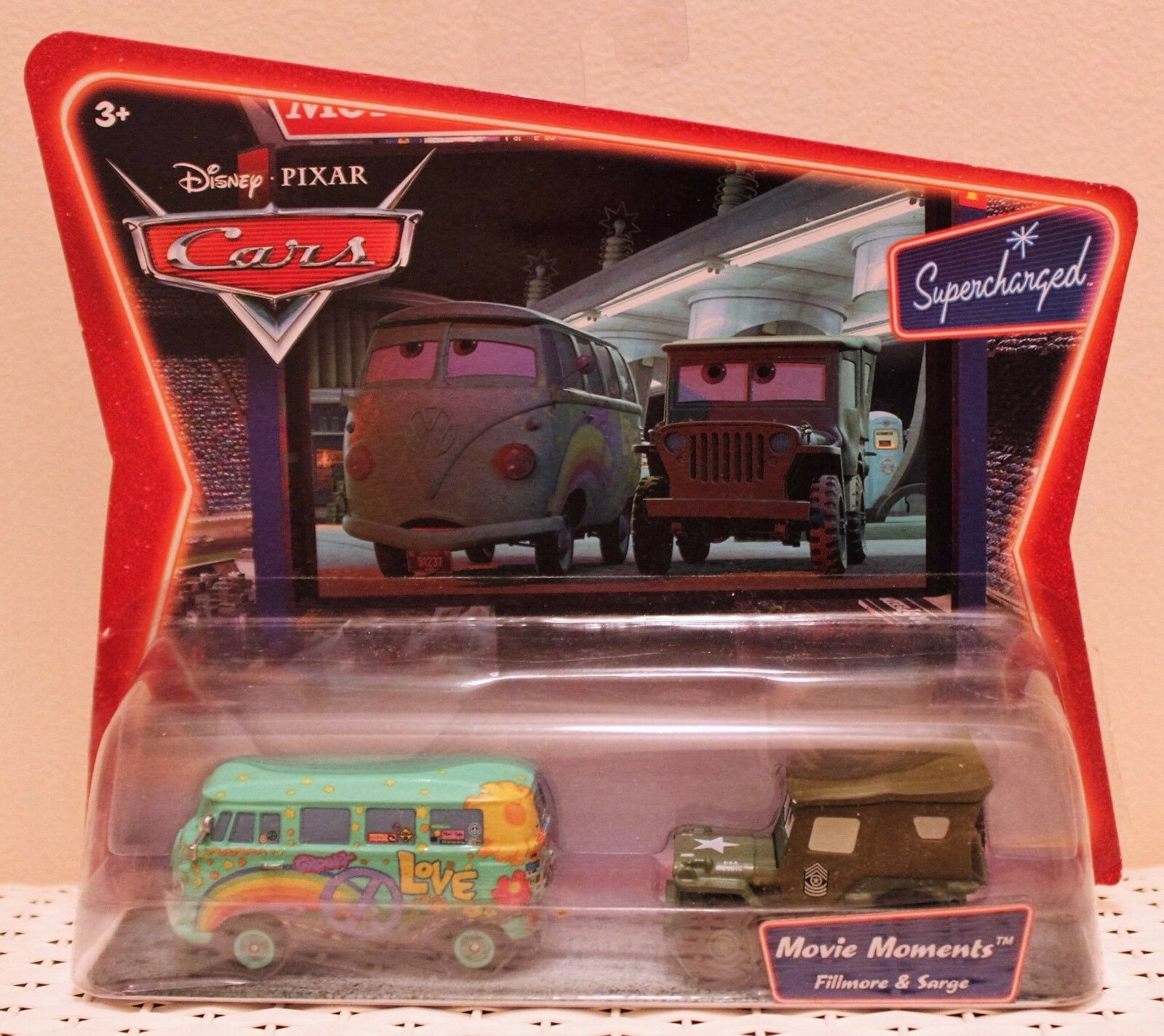 DISNEY CARS Movie Moments Fillmore /& Sarge NEW   STORE CLOSING 9//1