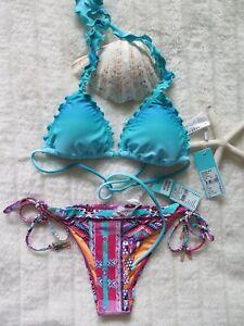 Image is loading Seafolly-10AU-6US-Miami-Slide-Tri-Seychelles-amp- 30d6f94f3