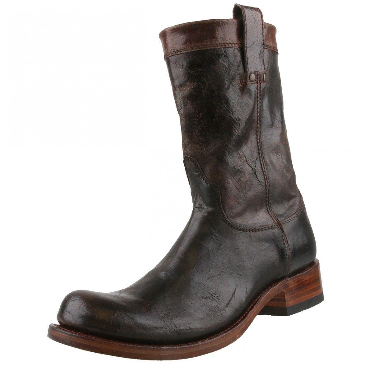 Nuevo Sendra Biker-botas engineerbotas botas de cuero 7133 marrón
