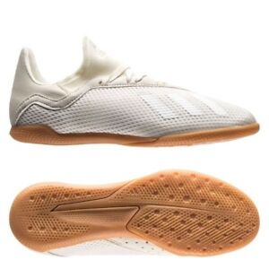 more photos ea564 91678 Details about adidas X 18.3 Tango IN Indoor 2018 Soccer Shoes WhiteOut  White Kids - Youth