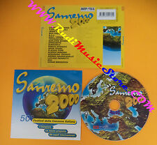CD Compilation Sanremo 2000 subsonica pavarotti Bregovich no lp mc dvd vhs(C26)