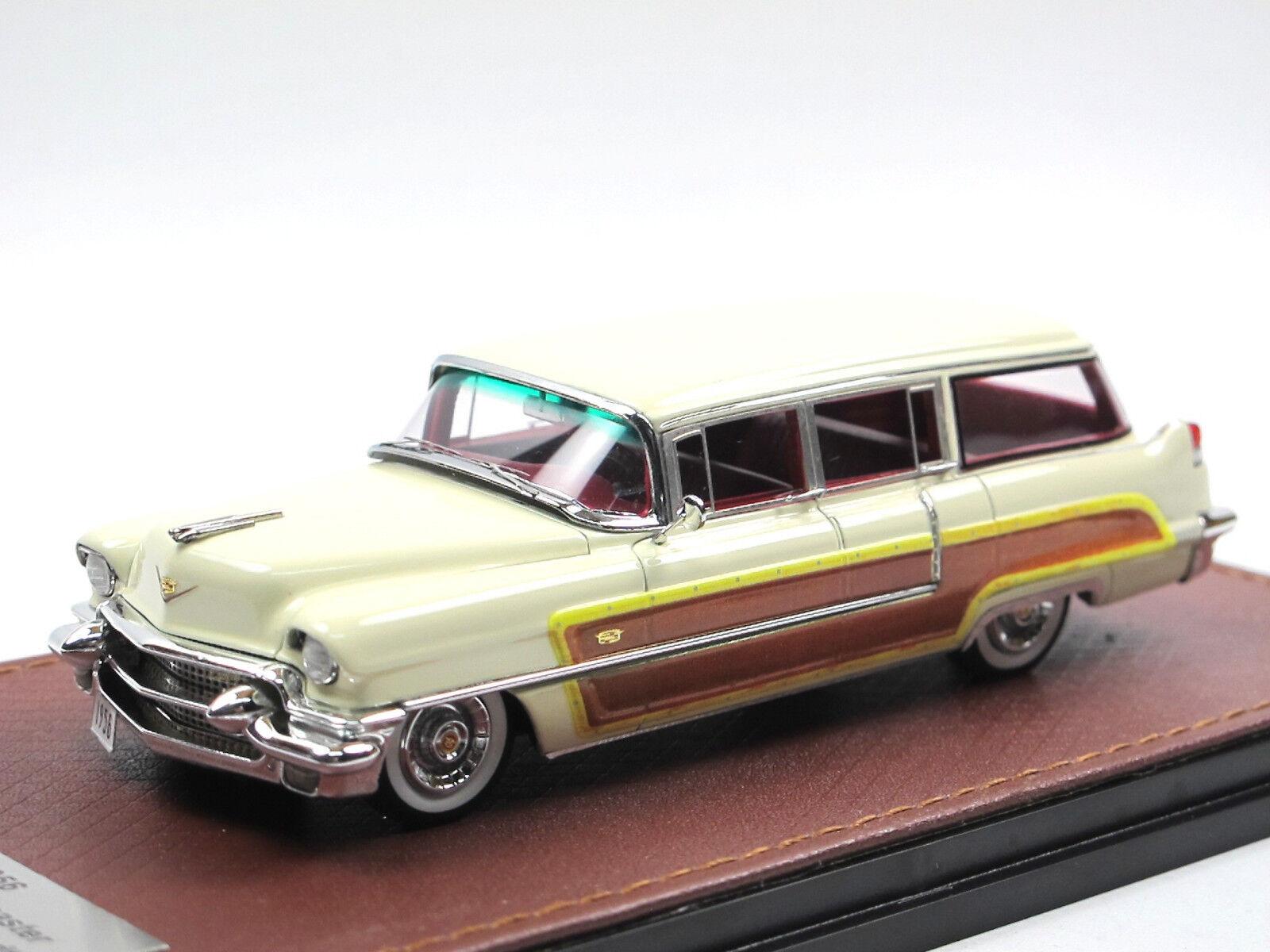 acquistare ora GLM 1956 Cadillac Series 62 62 62 Viewmaster by Hess + Eisenhardt Woodie Cream 1 43  risparmiare sulla liquidazione