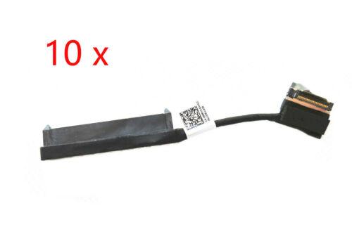 10 x 080RK8 Dell Latitude E5470 E7480 SATA Hard Drive Cable Adapter Connector