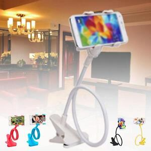 Flexible-360-Clip-Lazy-Bed-Desktop-Bracket-Mount-Stand-Holder-For-Cell-Phone-ZH