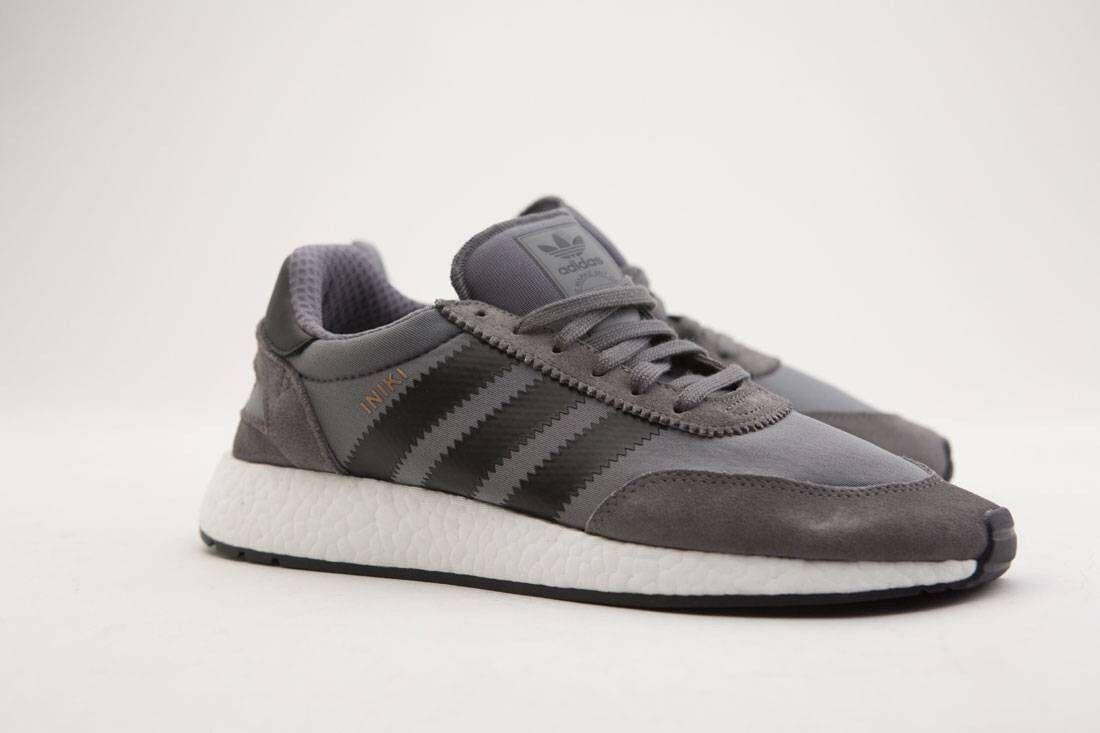 BY9732 Adidas Men Iniki Runner gray core black footwear white