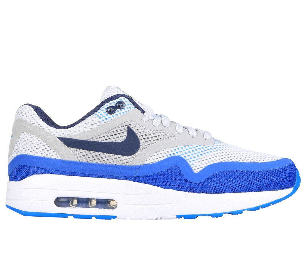 NIKE Air Max 1 One Breathe BR BR BR Neu Gr:38,5 US:6 Weiß/Blau Retro Sneaker 90 97 95 ab21e6