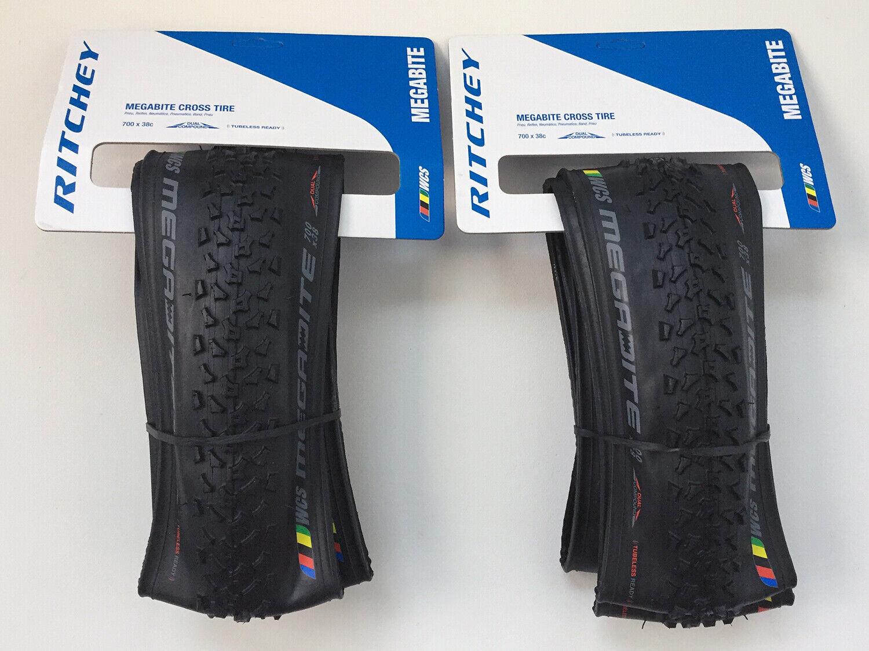 Ritchey Megabit WCS Cross Gravel Tires PAIR (2) 70x38c Viking Tubless Ready