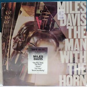 Miles Davis : The Man With The Horn. 1981 Jazz LP.  36790