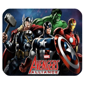 New Super Heroes Allince Mousepad Mouse Pad Mat Ebay