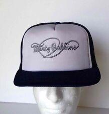 Marty Robbins Adjustable Snapback Trucker Hat White/Blue Mesh Cap Western Roping