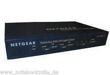Netgear ProSafe Dual Wan VPN Gigabit Firewall FVS124G Router Switch Neu