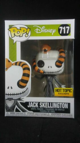 Funko Pop Disney 717 NBC Jack Skellington con serpente esclusiva Hot Topic