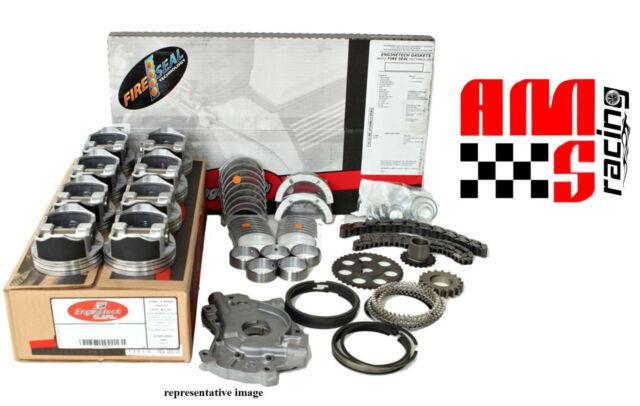 Fit 76 77 79 Chevy GM Car Truck Van Suv 454 7.4L OHV 16V SBC Engine Rebuild Kit