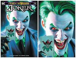JOKER-YEAR-OF-THE-VILLAIN-1-Mike-Mayhew-Variant-1st-Print-NM-LTD-to-600-RARE