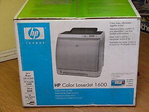 DRIVERS: HP 1600 COLOR LASER PRINTER