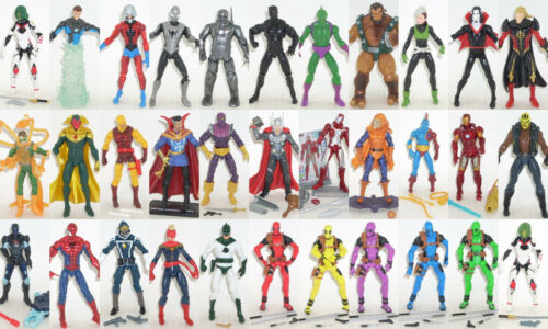"Thor Spider-Man Guardians 4.25/"" Multi-annonce Marvel univers FIGURINES"