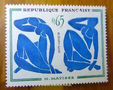 "EBS France 1961 Modern Art - ""Blue Nudes"" by Henri Matisse  YT1320 MNH**"
