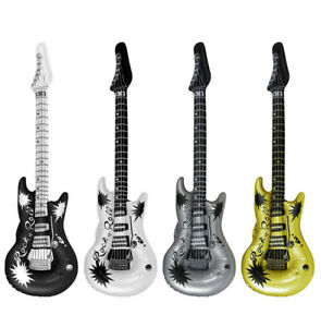 5-10-15-20-Inflatable-106cm-Air-Guitar-w-Rock-n-Roll-Design-Prop-Accessory