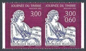 FRANCE - paire Timbre P3052A Neuf** TB avec gomme d'origine (cote 5,00 euros)