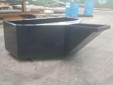 Mini Skid Steer 34 Yard Concrete Bucket Hopper Pour Style Toro Dingo Etc