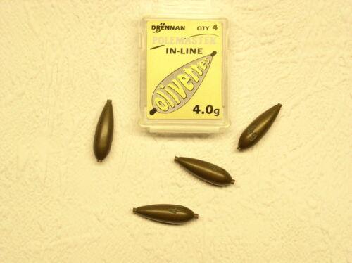 Torpillos 1,5 8 3 4 2 Drennan Wettkampf Bleie 5 10 Gramm 1-A-Produkt 6