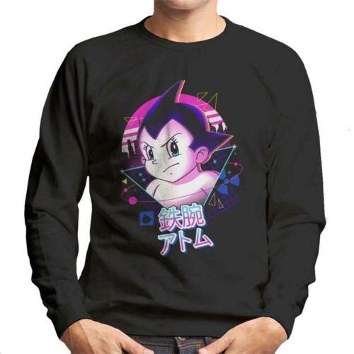 Retro 80s Mighty Atom Astro Boy Men/'s Sweatshirt