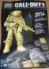 new 2014 SDCC mega bloks CALL OF DUTY 99707 exclusive GHOSTS FIGURE 21 pcs