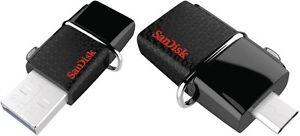USB-Stick-SanDisk-Ultra-Dual-Drive-USB-3-0-Micro-USB-Anschluss-OTG