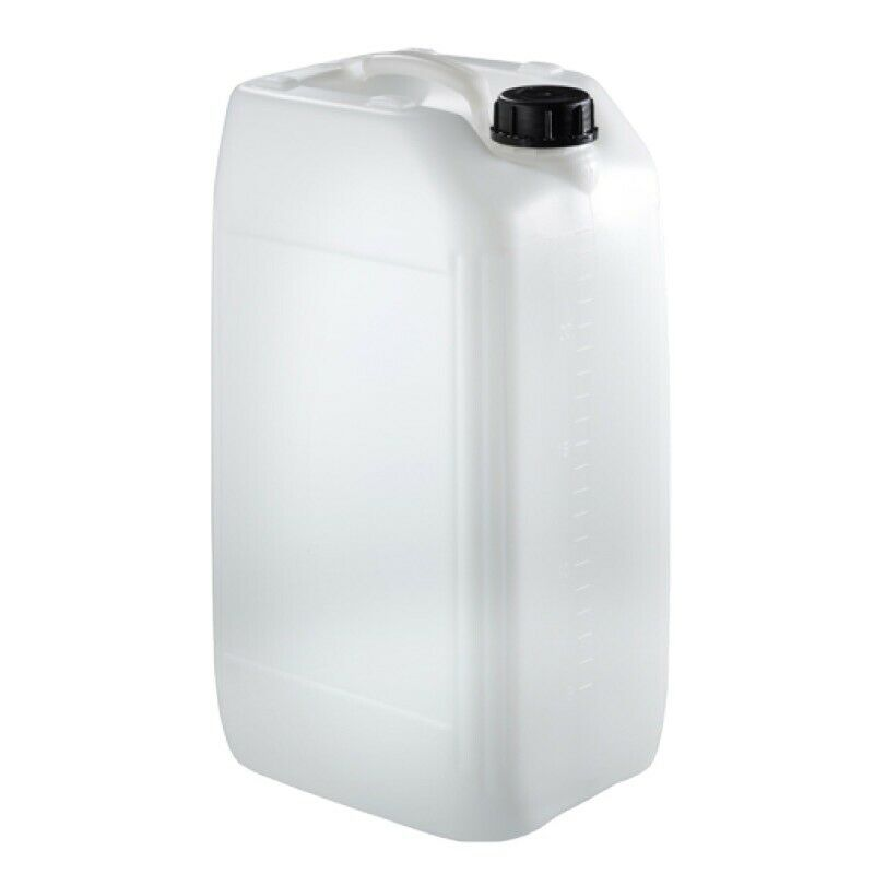 1 x 25 litre new plastic bottle jerry can water container carrier approved
