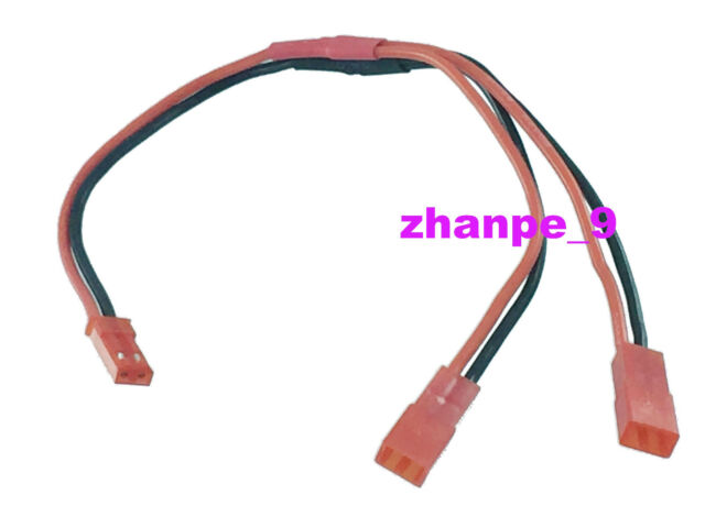 1pce TRX Traxxas Dual Extension Parallel 1M2F 14AWG Cable For LIPO Battery
