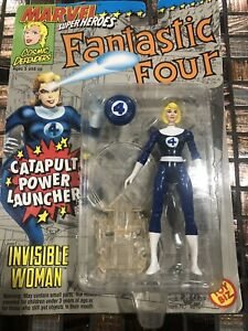 MARVEL SUPER HEROES COSMIC DEFENDERS NEW INVISIBLE WOMAN TOY BIZ 1994