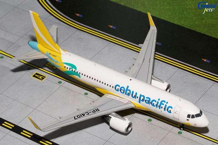alla moda GEMINI JETS JETS JETS CEBU PACIFIC AIRautobus A320 1 200 DIE-CAST modello AIRPLANE G2CEB2320  alto sconto