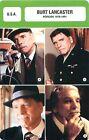 FICHE CINEMA USA Burt Lancaster Acteur Actor Réalisateur Période 1978-1991